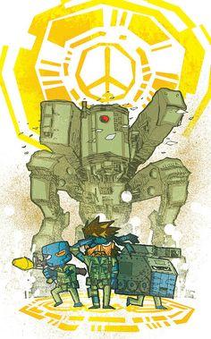Metal Gear Solid art by Danilo Kako
