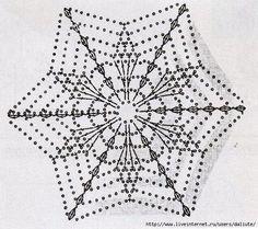 49 ideas for crochet mandala white Crochet Snowflake Pattern, Crochet Stars, Crochet Motifs, Crochet Blocks, Crochet Snowflakes, Crochet Mandala, Crochet Flower Patterns, Doily Patterns, Thread Crochet