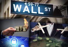 Wall street se reúne en secreto para implantar el dinero electrónico