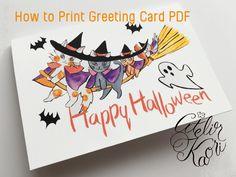Enjoyable Clip art and DIY Ideas Textile Design, Spoonflower, Happy Halloween, Watercolor Art, Diy Ideas, Greeting Cards, Clip Art, Hand Painted, Creative