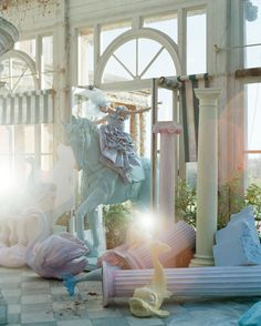 Oh, to live in Tim Walker's world for only a day!