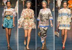 Dolce & Gabbana Spring/Summer 2014 RTW - Milan Fashion Week  #MFW #fashionweek #dolcegabbana