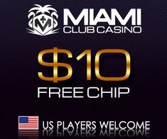 Miami Club is a hot online casino that runs on the WGS platform. You can get $10 free in two easy steps. Use the free money to try out Miami Club's newest slots such as Cash Cow or Ultimate 10X Wild. New slots arrive about once a month, so the action is always on. If you like Miami Club, they offer a 100% match bonus up to $100 on your first eight deposits. Wagering requirements on the bonus are the industry standard 30x deposit and bonus. Online Gambling, Best Online Casino, Online Casino Bonus, Best Casino, Free Slot Games, Free Slots, Sites Online, News Online, Miami Club