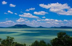 Photo about Beautiful view on the lake Balaton from Fonyod. Image of badacsony, europe, summer - 14865133 Budapest, Summer Backgrounds, Hungary, Cool Pictures, Europe, Earth, Stock Photos, City, Places