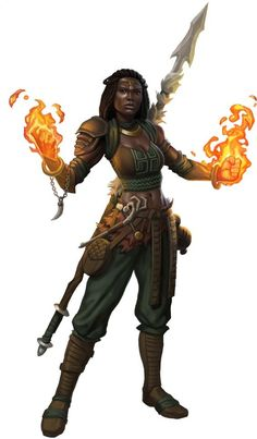 Post with 1980 votes and 107000 views. Tagged with art, drawings, fantasy, dungeonsanddragons; DnD female druids, monks and rogues - inspirational Fantasy Warrior, Fantasy Rpg, Medieval Fantasy, Dark Fantasy, Black Characters, Dnd Characters, Fantasy Characters, Female Characters, Fantasy Figures