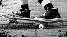 Go Skateboarding Day (GSD) is celebrated on 21 June Skateboarding is an action sport involving riding and performing tricks using a skateboard. Go Skateboarding Day, Skateboard Companies, Android Icons, Baskets, Converse Hi, Skateboard Girl, Skater Girls, Types Of Fashion Styles, Chuck Taylors