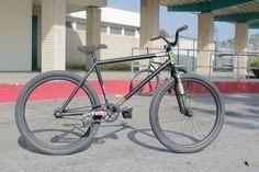 FGFS bike with LDG Hammer frame