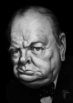 Winston Churchill. Marzio Mariani.