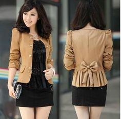 Free shipping, $13.63/Piece:buy wholesale Women bow slim outerwear short design fashion short jacket women's blazer High Qualitycoat h326 from DHgate.com,get worldwide delivery and buyer protection service.