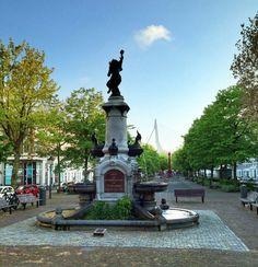 Burgemeester Hofmanplein, Noordereiland - Rotterdam (the Netherlands)