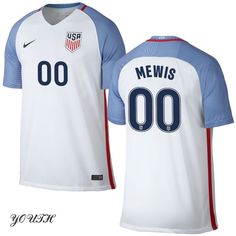 16/17 Kristie Mewis Youth Home Jersey USA Soccer