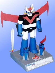 Great Mazinger - PM-02 Robot Paper Model Free Template Download - http://www.papercraftsquare.com/great-mazinger-pm-02-robot-paper-model-free-template-download.html#GreatMazinger, #MazingerZ, #PM02, #Robot, #TranzorZ