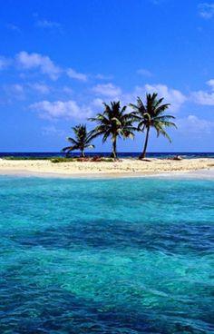 Beautiful little sandy island...