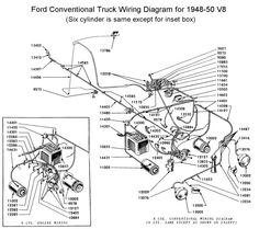 flathead electrical wirediagram1951truck jpg 700 598 classic rh pinterest com 1949 Ford Sedan Wiring Diagram 1949 Ford Sedan Wiring Diagram