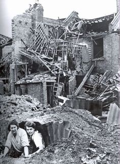 World War Two - British Empire - The Home Front - The Blitz - Shelters - London - London History, British History, World History, World War Ii, Anderson Shelter, Old London, Blitz London, East London, The Blitz