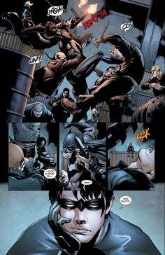 Batman Hero, Batman Robin, Nightwing, Batgirl, Batman Arkham Knight Wallpaper, Gotham Villains, Dc Comics Art, Detective Comics, Bat Family