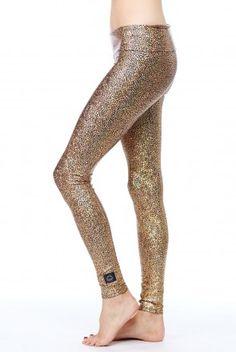8ad6a4ec4cabf6 Purusha People Golden Goddess Leggings Golden Goddess, Yoga Pants, Active  Wear, Sport Wear