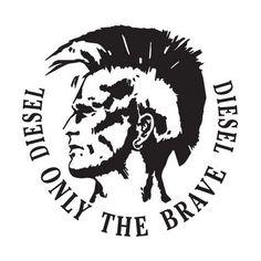 diesel logo / diesel only the brave diesel