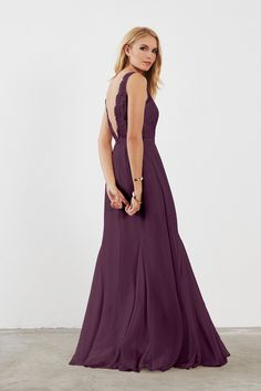 Shop Weddington Way Bridesmaid Dress - Mila in Poly Chiffon & Lace at Weddington Way. Find the perfect made-to-order bridesmaid dresses for your bridal party in your favorite color, style and fabric at Weddington Way.