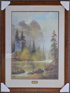 Artist G. Harvey Where Eagles Soar Print by UptownArtsGranburyTX