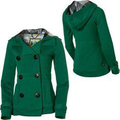 Wool Blend Regular Fit Pea Coat