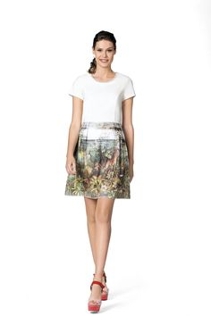 Kleid Dress Tropical print and colours