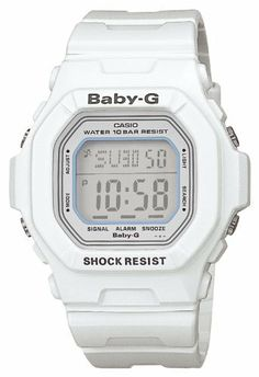 [カシオ]CASIO 腕時計 Baby-G ベビージー Baby-G BASIC ホワイト BG-5600WH-7JF レディース Baby-G(ベビージー), http://www.amazon.co.jp/dp/B000J35EPY/ref=cm_sw_r_pi_dp_PH7ltb19S4D4G