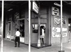 La Tropicana Cafe in Ybor City, Tampa; 1973. Ohhhhh the Cuban Sandwiches I've eaten here as a kid..*sigh*