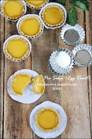 Catatan Nina: PIE SUSU (EGG TART)