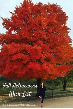 Fall Activewear Must Haves