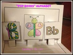 """Pop-Books"" Alphabet: 3-D DIY Pop-Up Stories"