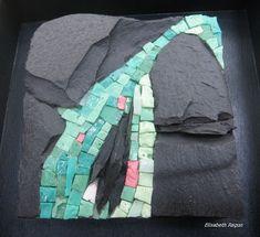 Elisabeth ragon photos..mosaics..like the contrast of scale