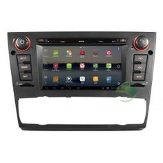 Android BMW E90 3 Series Saloon head unit DVD player GPS navigation system with 3G Wifi Radio Bluetooth