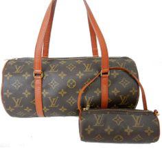 $1120 Authentic LOUIS VUITTON Monogram PAPILLON 30 Handbag Pouch Bag LV M51385 http://stores.ebay.com/madamj/