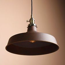What You Are Looking At Are Permo Metal Lamp Shade Industrial Pendant  Antique Loft Ceiling Light With 8 Colors To Meet Your Needs. Round Ceiling  Plate With ...
