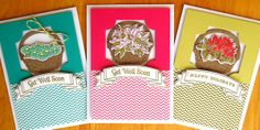 More Happy Wishes Cards by Stephanie Wincott for Simon Says Stamp.  2013