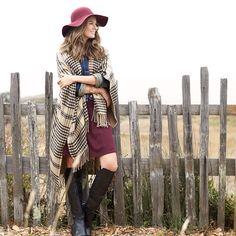 Three looks inspired by fall's favorite trends—burgundy, plaid & suede— broken down piece by piece to create simple how to layer formulas.