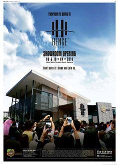 #TheHenge Brochure Layout, Brochure Design, Flyer Design, Layout Design, Property Ad, Property Design, Real Estate Ads, Selling Real Estate, Press Ad