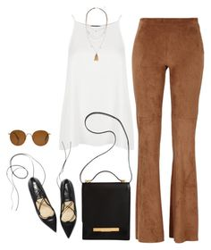 """Unbenannt #272"" by llsbo ❤ liked on Polyvore featuring Topshop, The Row and H&M"