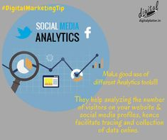 Making use of all the available digital Analytics tools is a great way to ensure huge success since it aids you in collecting online data which can be used to gain advantage over others in competition. Digital Marketing Services, Email Marketing, Content Marketing, Social Media Analytics, Social Media Marketing, Blog Images, App Development, Gain, Competition