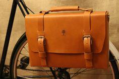 Bicycle Bag Bicycle  Briefcase Bicycle  Shoulder by BlackTreeShop