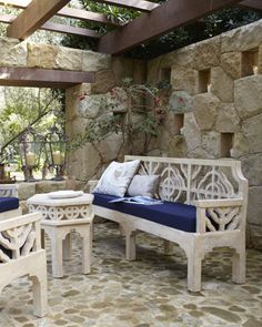 Quatrefoil Outdoor Furniture - Horchow