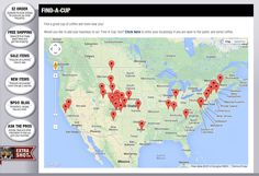 Have you ever been on the road for work or a vacation and wanted to know where to find great coffee? Or what about that urge to try something new, but still close to you? Well now you can find options all across the U.S. in one place with our Find-a-Cup tool! Check it out now and get on with the caffeinating.
