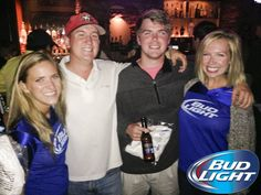 #BudLight Night at Double Barrel! We had a great time!! #Athens #Georgia #Beer