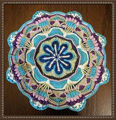 Floral Mandala - Peacock Bouquets