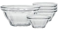 DURALEX PICARDIE BOWL SET via KosherEye: We wish that everything in our kitchen was as versatile as our Duralex Picardie Bowl set. The shape and size of these bowls make them perfect for mixing, cooking, storing, freezing, microwaving and serving. And they are stylish enough to bring to the table!