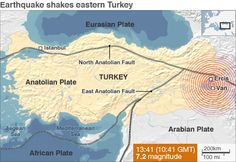 Turkey earthquake: Death toll passes 430 [VIDEO] | CY.TALK® Blog ... Geography, Turkey, Death, Blog