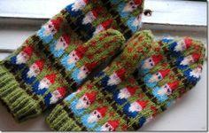 Gnome mittens Ravelry