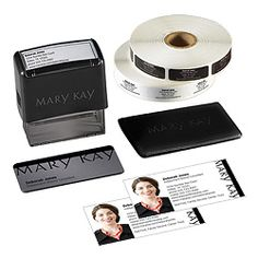 Mary Kay Connections business cards with my picture could be cool.