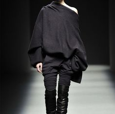 slouchy sweaters Haider Ackermann - omgosh a ginormous sweater that i could practically sleep in!!!